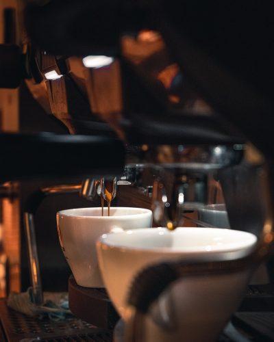 coffee, machine, cups